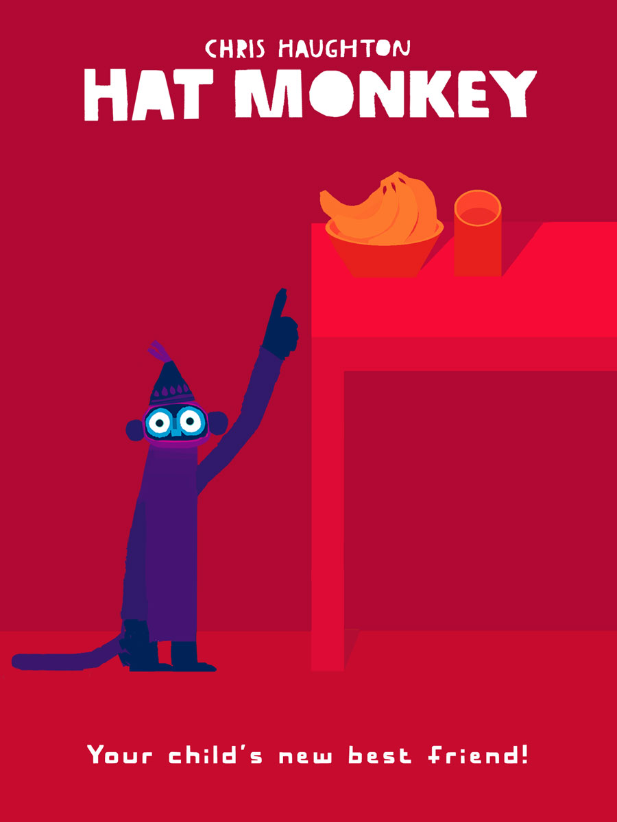 Hat Monkey App by Chris Haughton – your child's new best friend