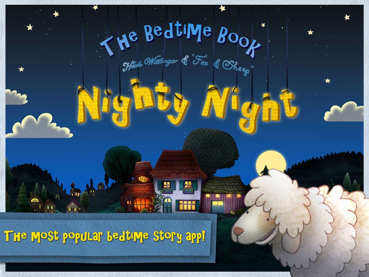 Nighty Night Bedtime Book – help the animals go to bed