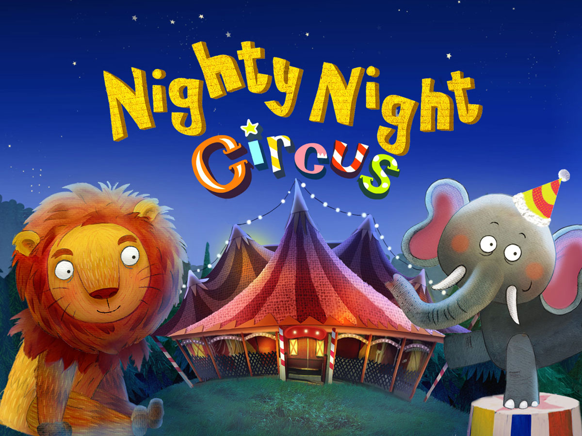 Nighty Night Circus Bedtime Book App – perfect for a daily go-to-bed-ritual