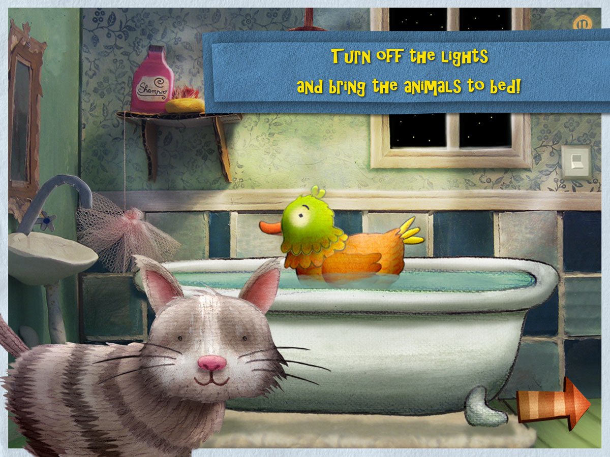 Nighty Night Bedtime Book – turn off the lights and bring the animals to bed