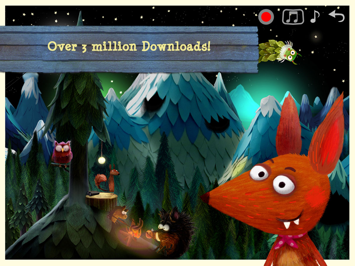 Little Fox Nursery Rhymes App – handmade sing along app for children