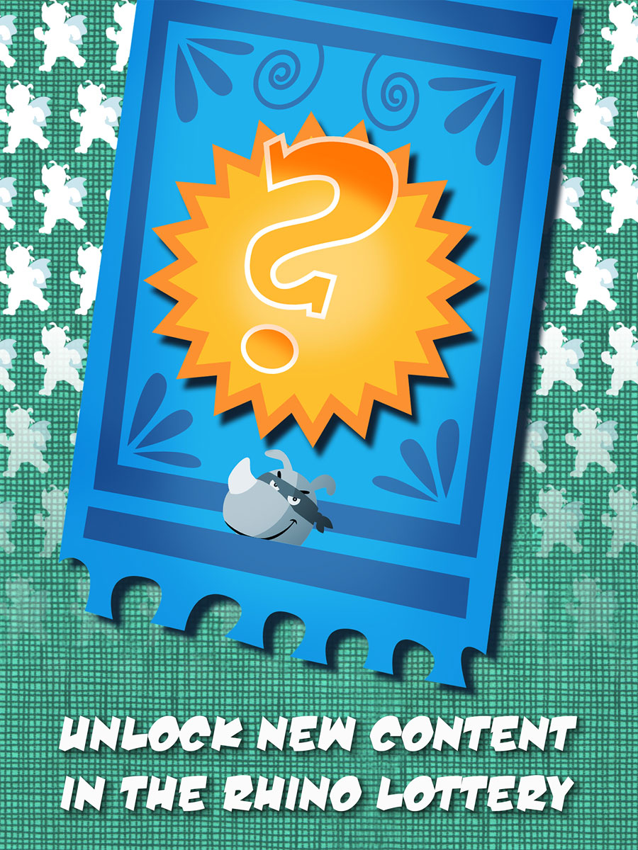 Rhino Hero Action Game for Kids – Unlock new content in the Rhino lottery