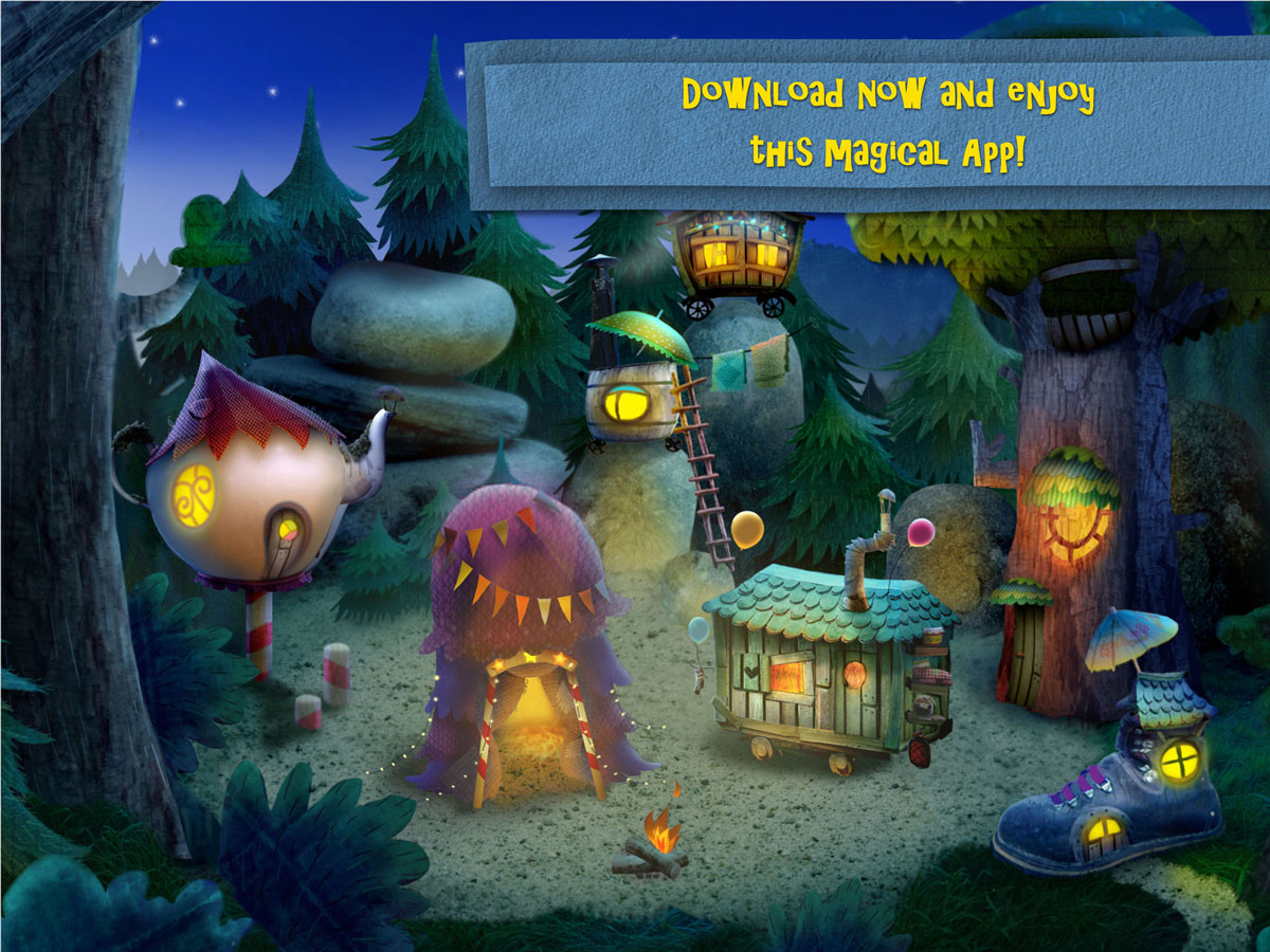 Nighty Night Circus Bedtime Book App – enjoy this magical app for toddlers