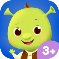 App Icon DreamWorks Friends – Lovely morning routine learning app with Shrek and Toothless