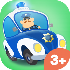 App Icon Little Police Station – fun mobile game for kids