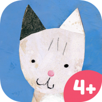 Lucy & Pogo App Icon – storybook app for kids with animals and mini games