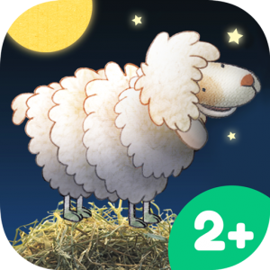 Nighty Night App Icon – lovely bedtime story app for kids by Heidi Wittlinger
