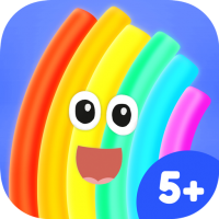 App Icon Rudi Rainbow – educational storybook with mini games about the weather and space