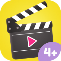 App Icon Movie Maker for Kids – creative children's app for making own movies