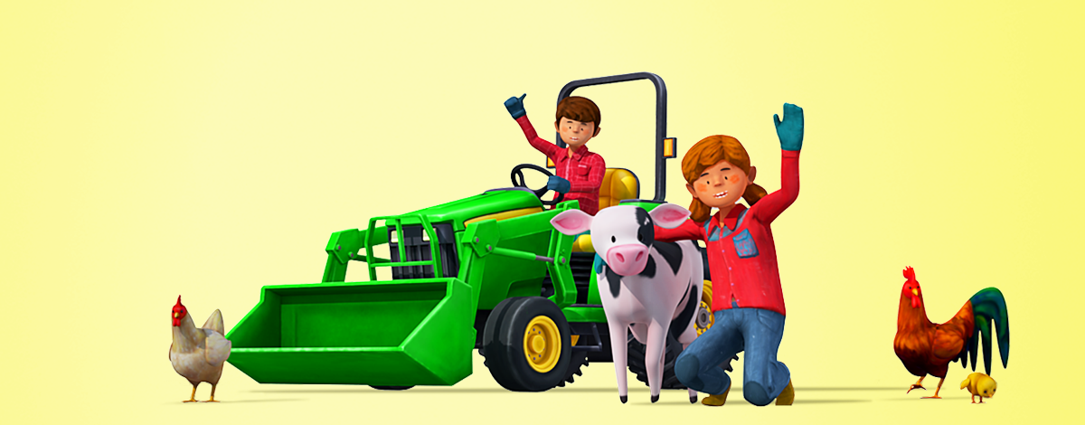 Little Farmers – 3D farming mobile game developed especially for children