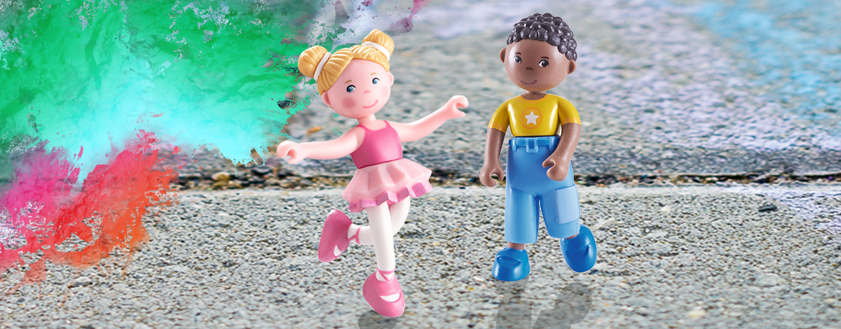 Little Friends Dance Studio AR – use augmented reality and make the dolls perform