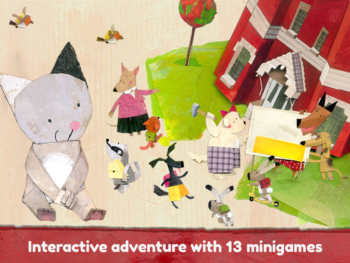 Lucy & Pogo App – interactive adventure with 13 mini games