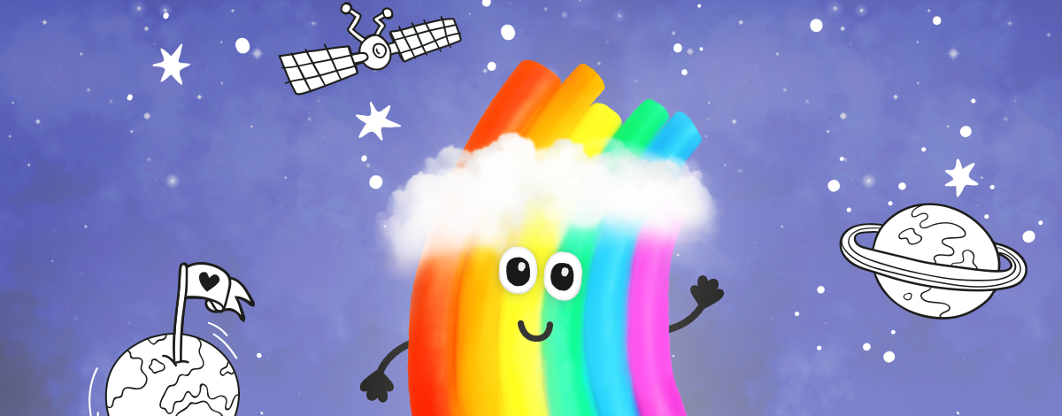 Rudi Rainbow – educational weather game app for children