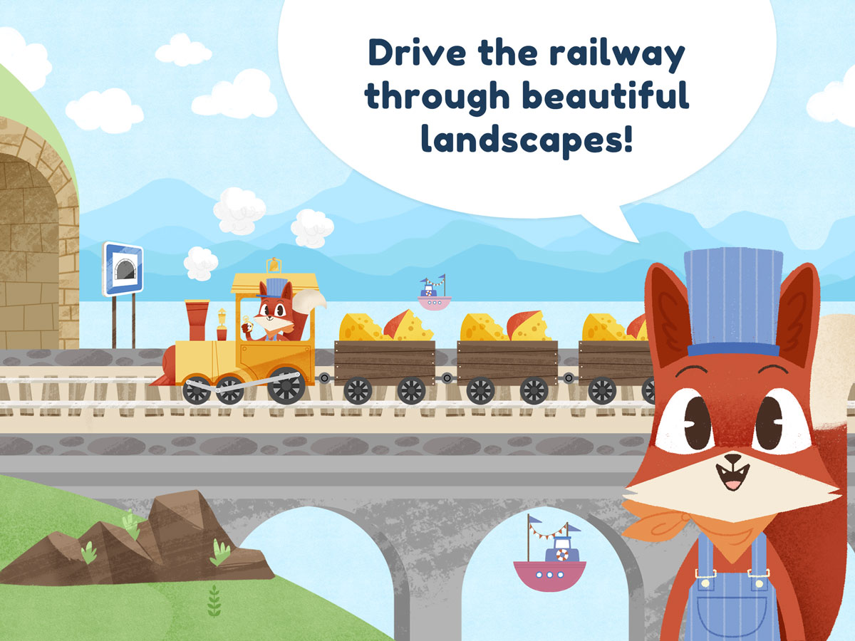 Little Fox Train Adventures – drive the railway through beautiful landscapes