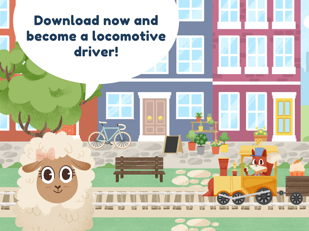 Little Fox Train Adventures – become a locomotive driver
