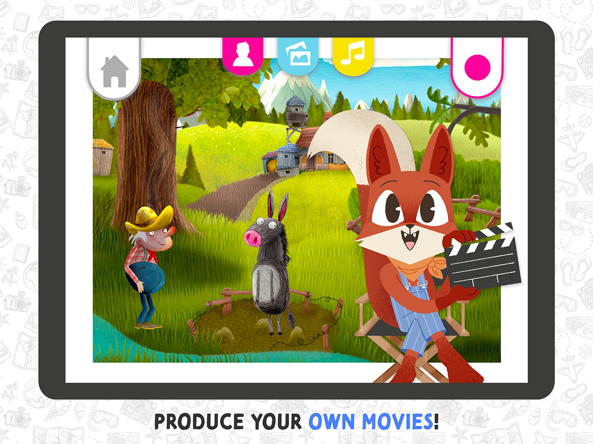 Movie Maker App for Kids – produce your own movies