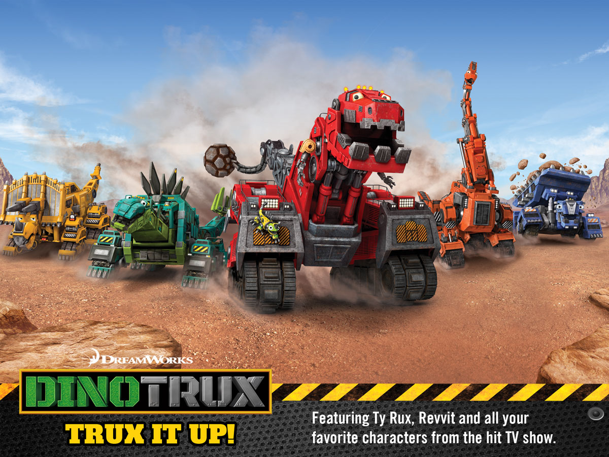 Dinotrux Game for Kids – trux it up