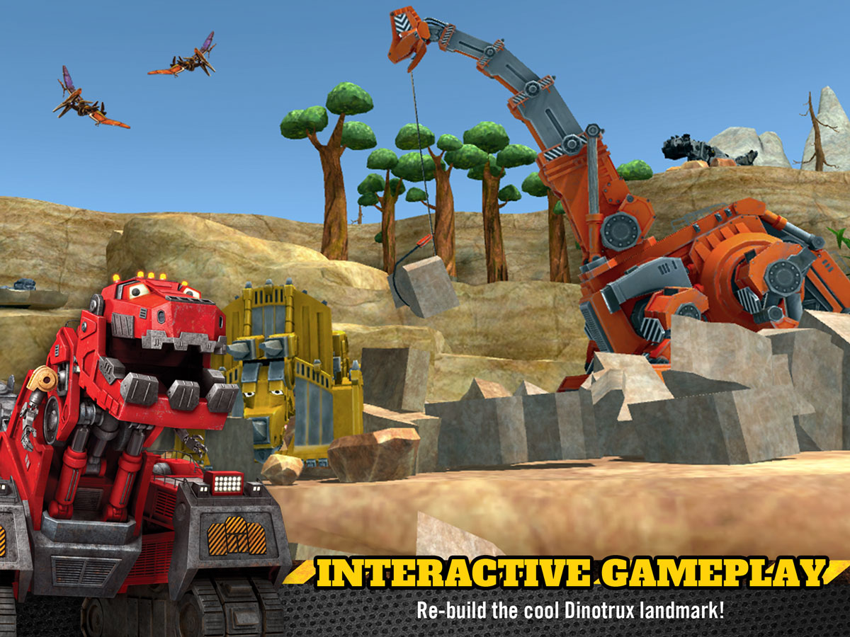 Dinotrux Game for Kids – interactive game play