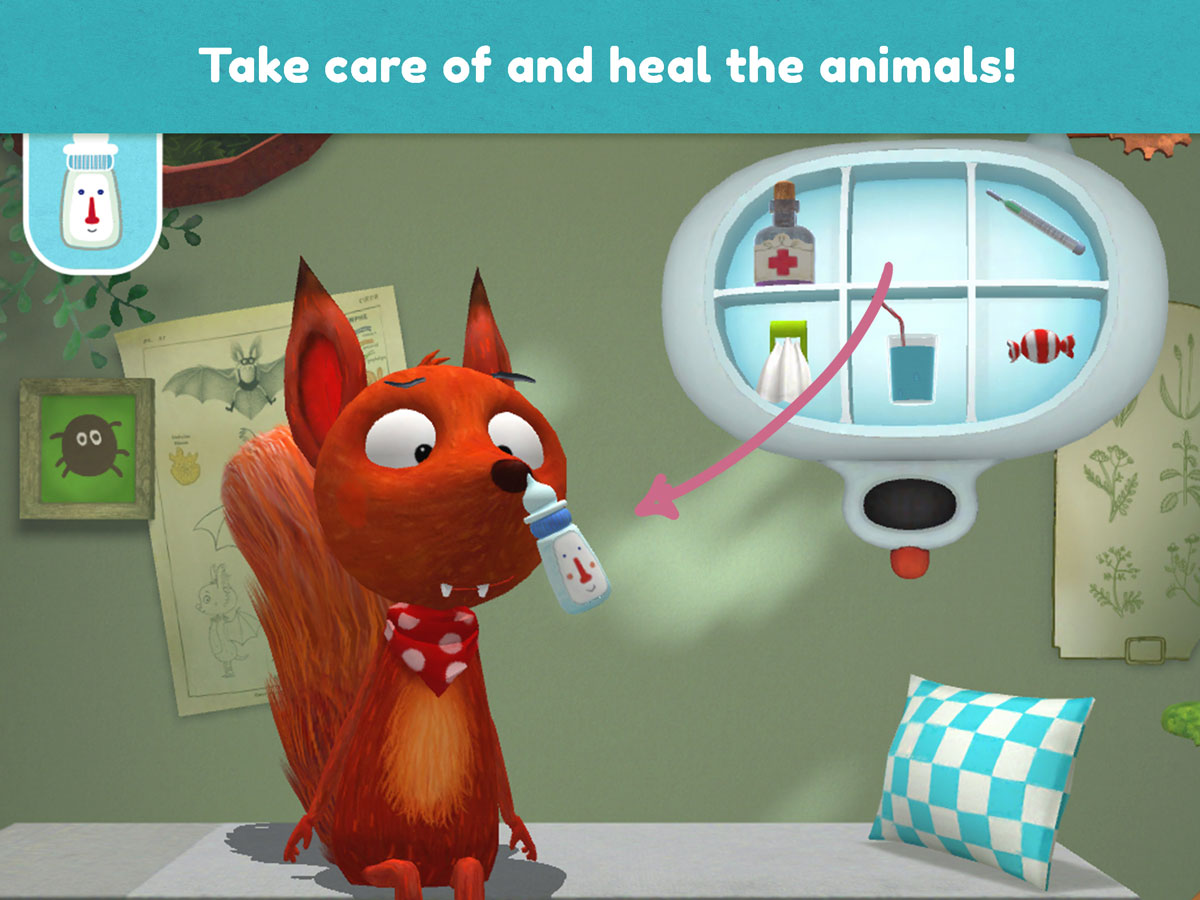 Little Fox Animal Doctor App – take care of and heal the animals