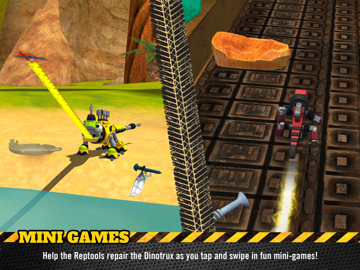 Dinotrux Game for Kids – play fun mini games