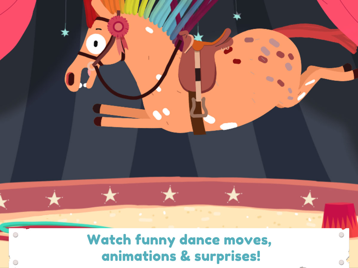 Pony Style Box App for Kids – funny dance moves and surprises