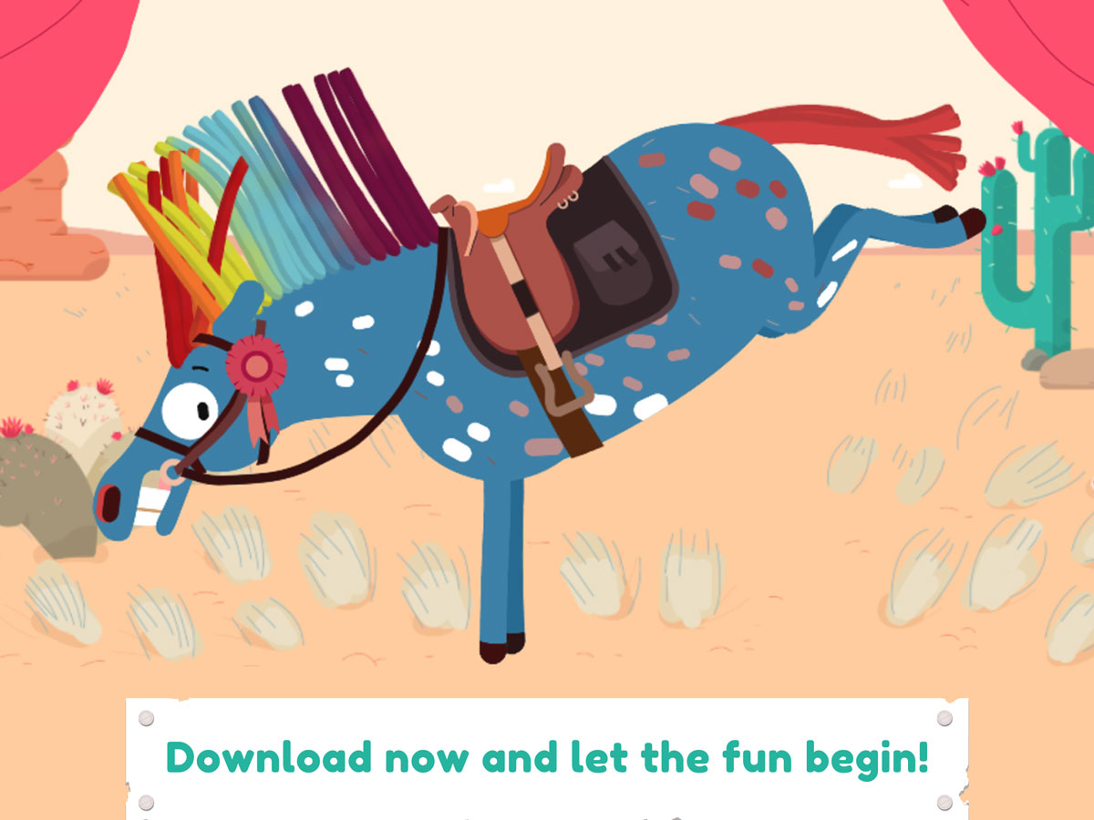 Pony Style Box App for Kids – funny horses to dress up and play with