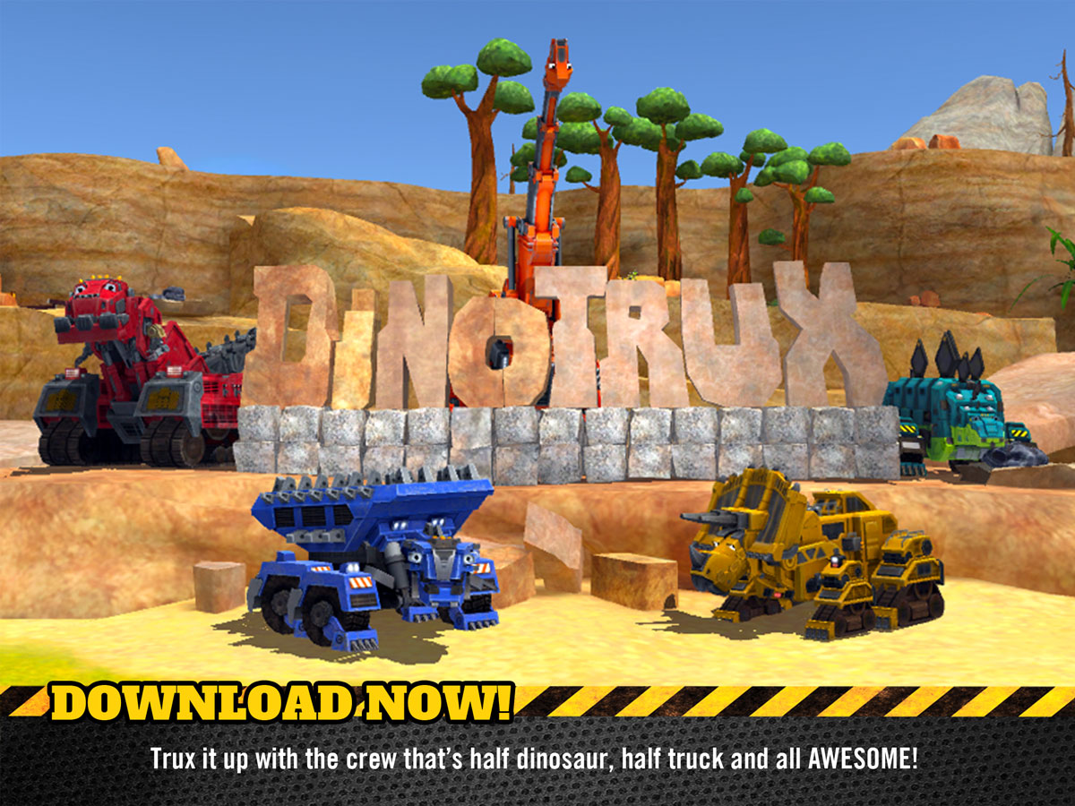 Dinotrux Game for Kids – based on the popular NETFLIX show