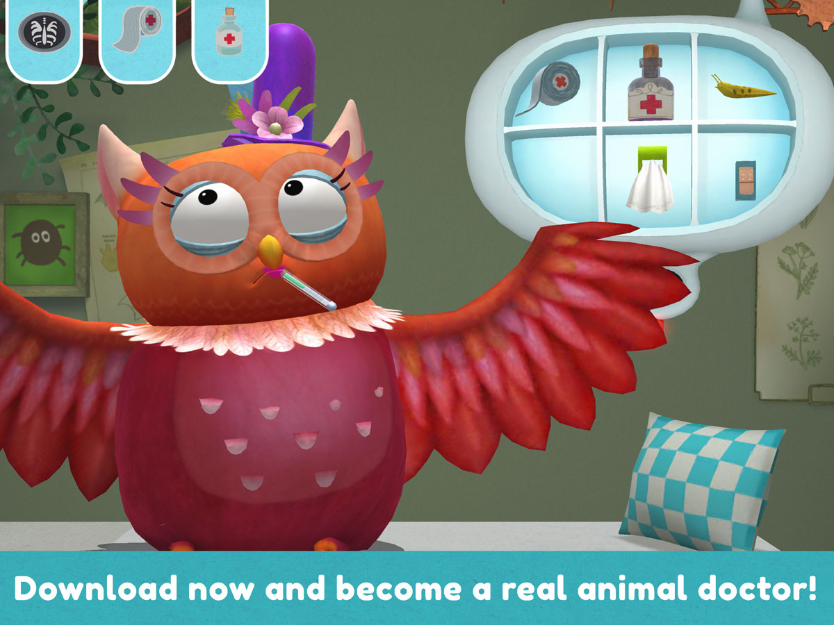Little Fox Animal Doctor App – become a real vet