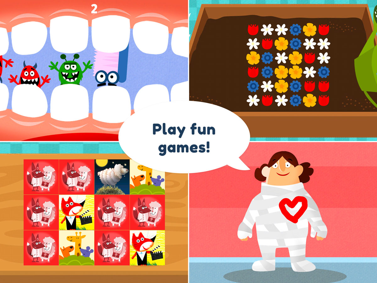 Little Hospital App for Kids – play fun games