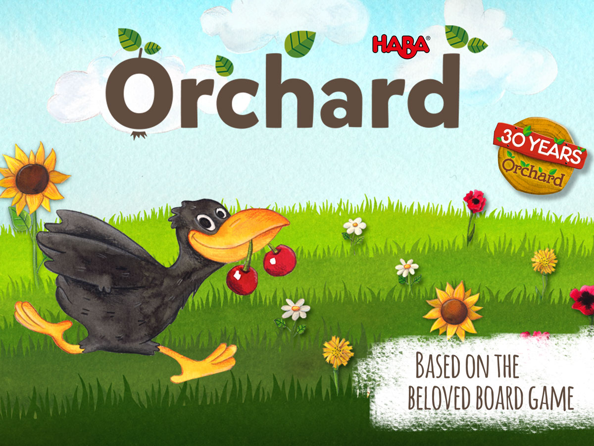 The Orchard boardgame app by HABA – based on the beloved game