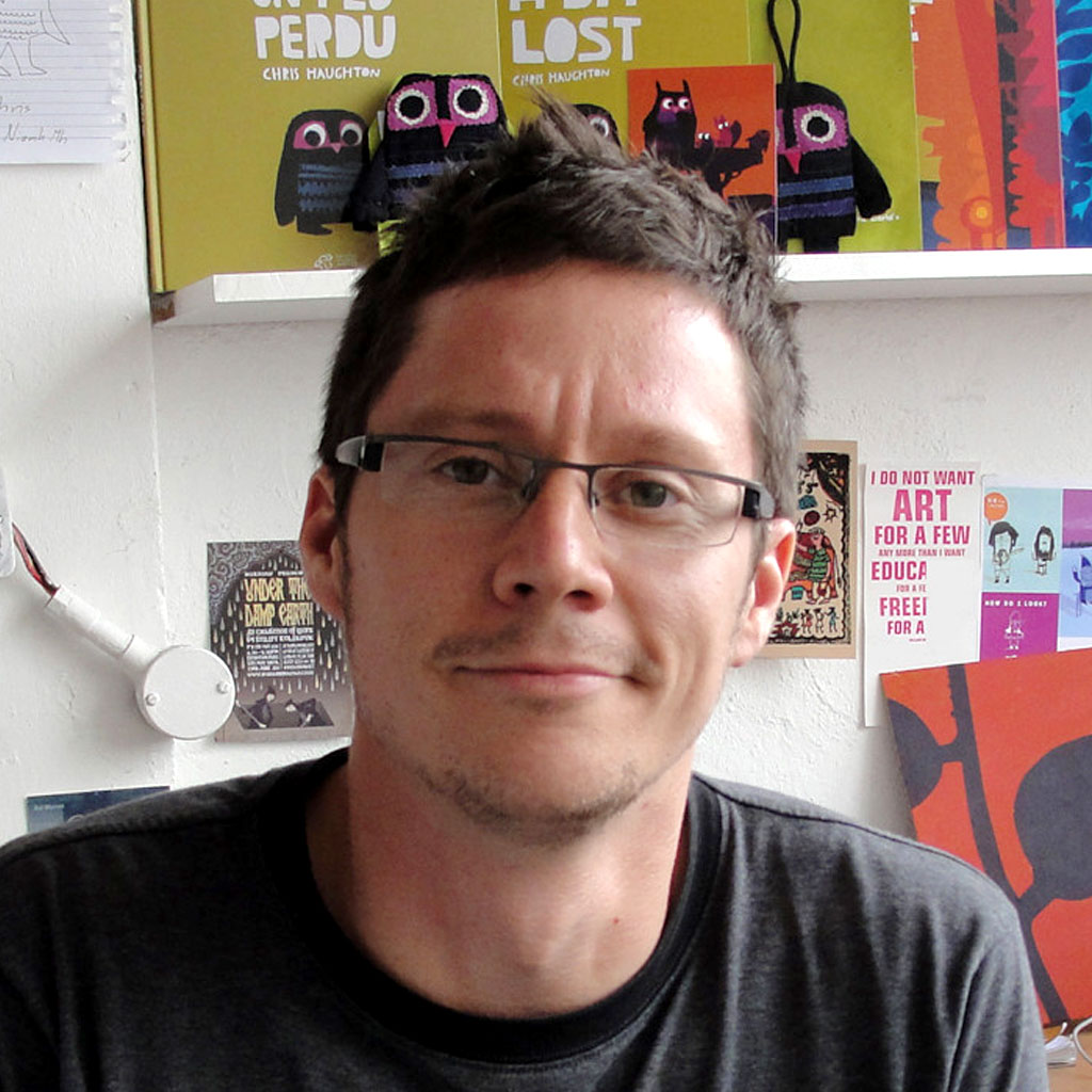 Chris Haughton – Illustrator of the children's book app Hat Monkey