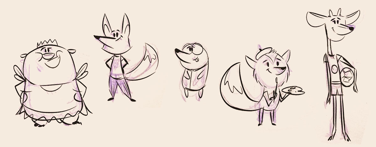 Fox & Sheep Animation – Animated tv shows for kids