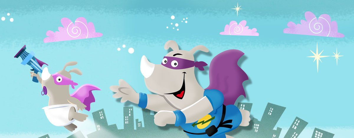 Fox & Sheep Agency – HABA Rhino Hero App development