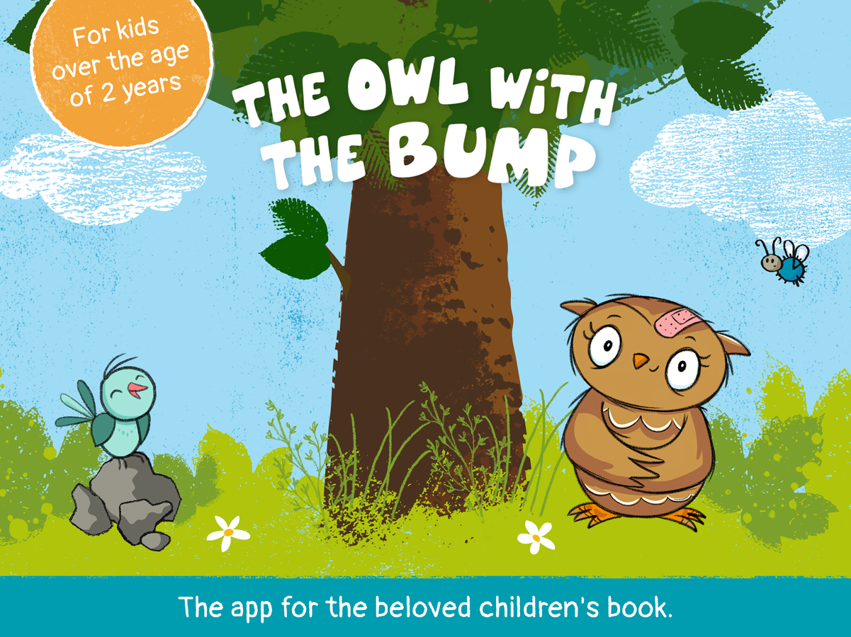 Little Owl for Kids – The Owl with the Bump
