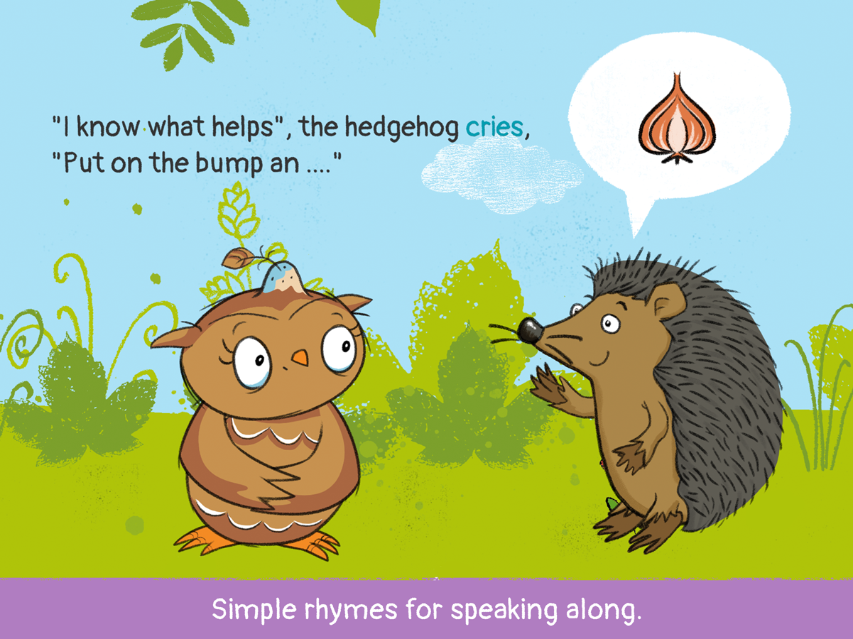 Little Owl for Kids – simple rhymes for speaking along