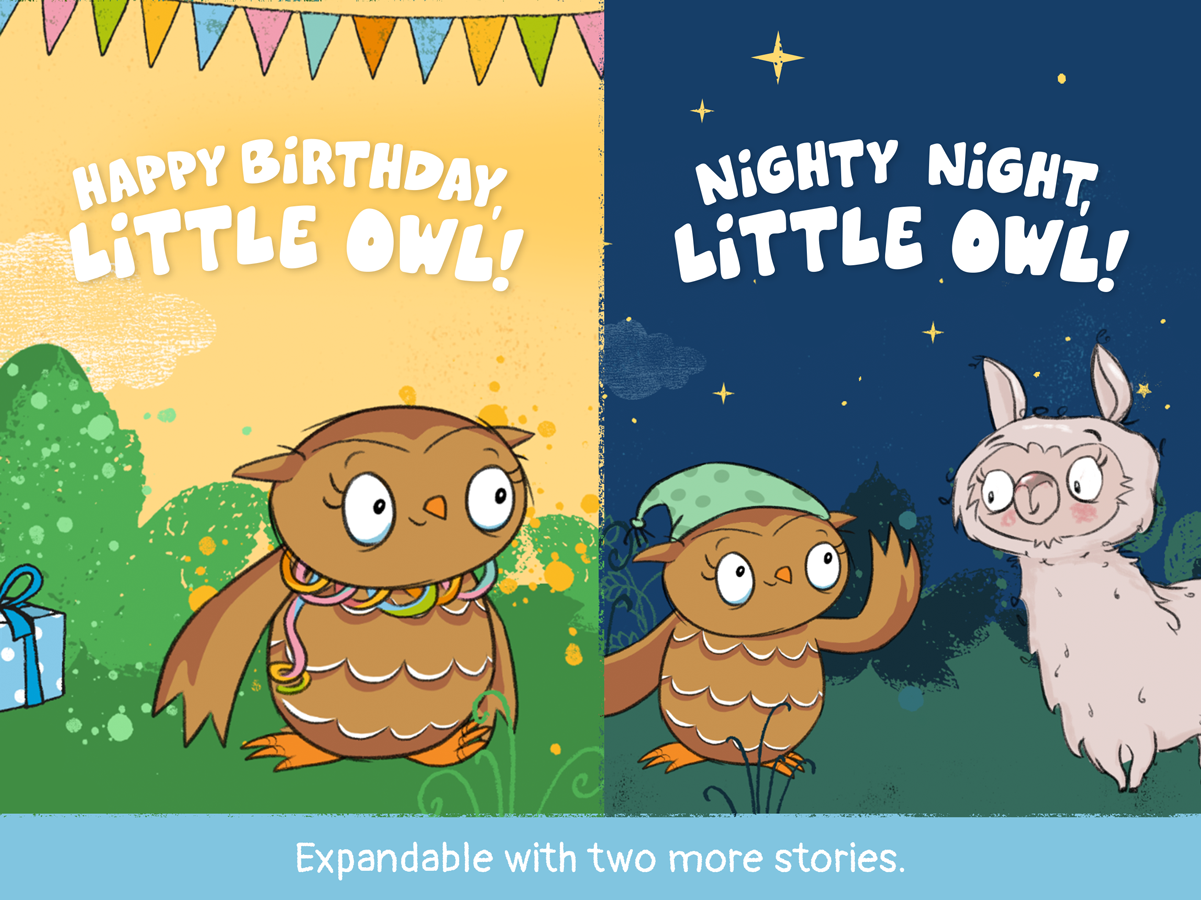 Little Owl for Kids – birthday and good night story