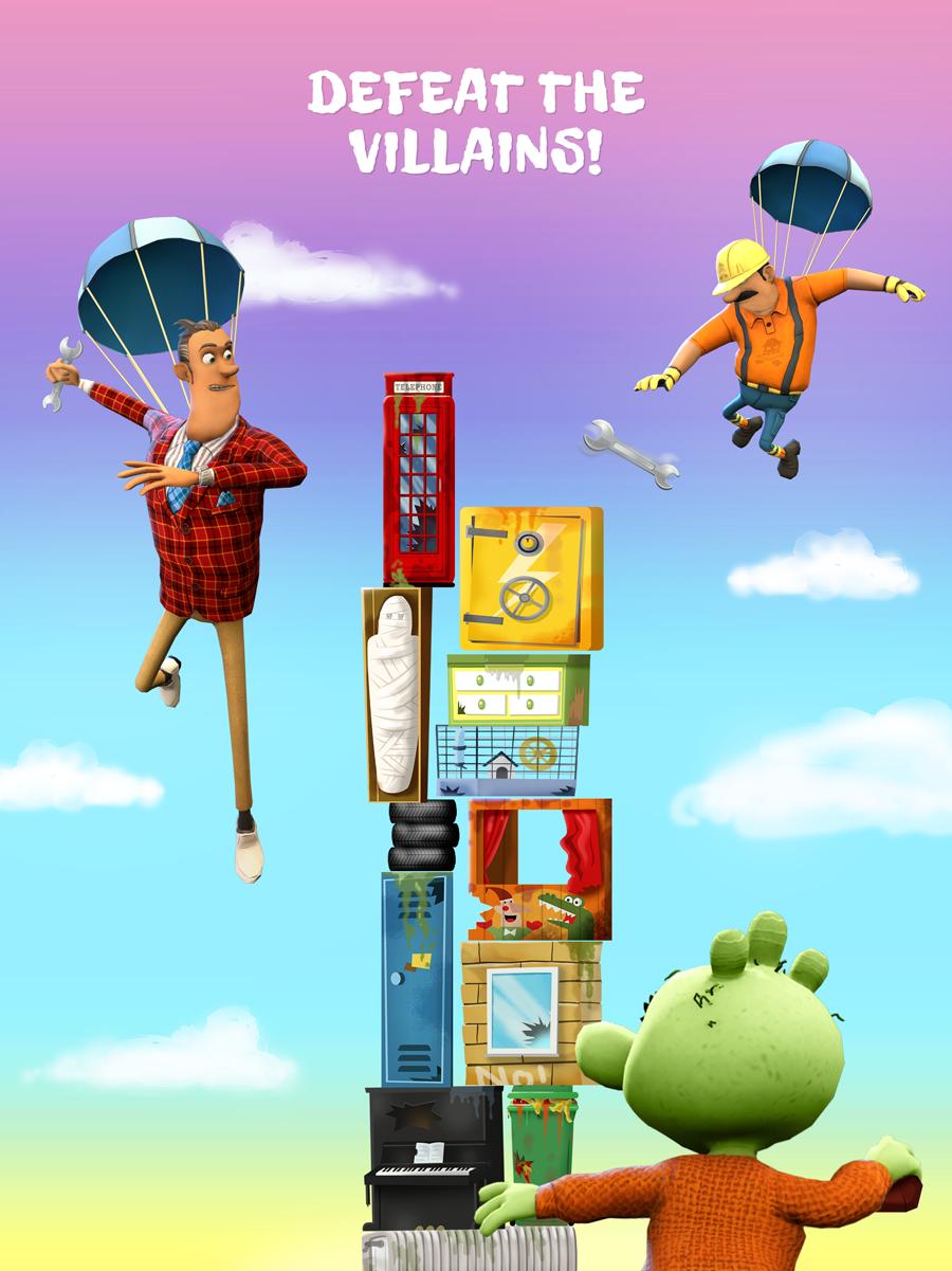 The Ogglies Kids App – Defeat the villains