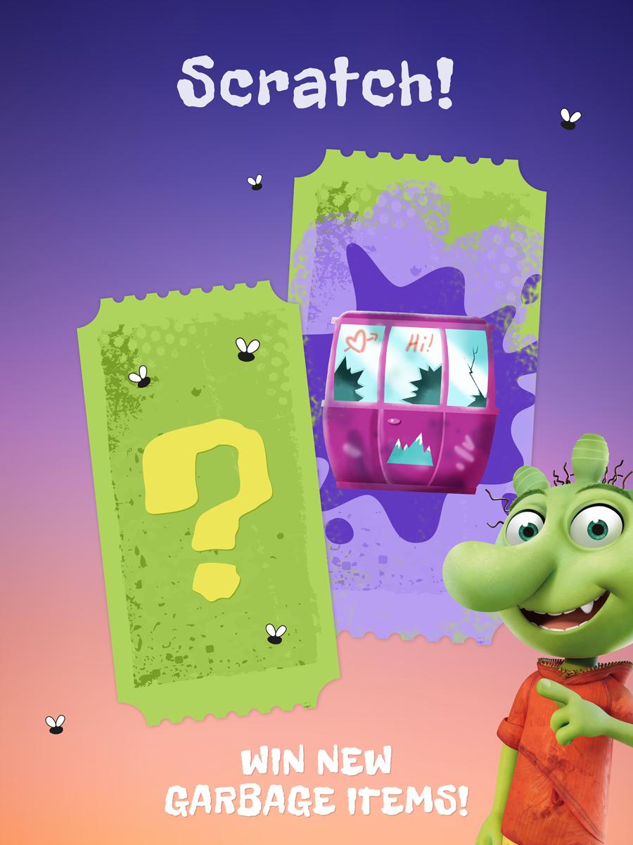 The Ogglies Kids App – win new trash items