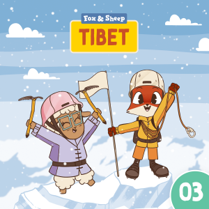 Around the World with Fox and Sheep – Radio Play for Kids Episode 03 Tibet