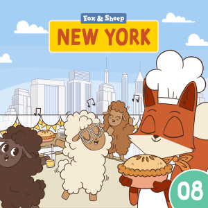 Around the World with Fox and Sheep – Radio Play for Kids Episode 08 New York