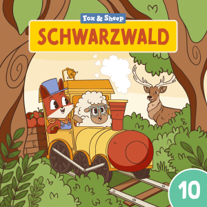 Around the World with Fox and Sheep – Radio Play for Kids Episode 10 Black Forest