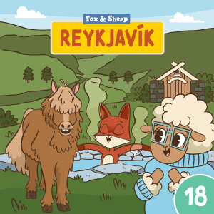 Around the World with Fox and Sheep – Radio Play for Kids Episode 18 Reykjavik