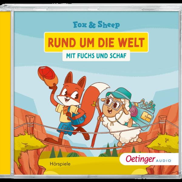 """""""Rund um die Welt mit Fuchs und Schaf"""" on CD"""