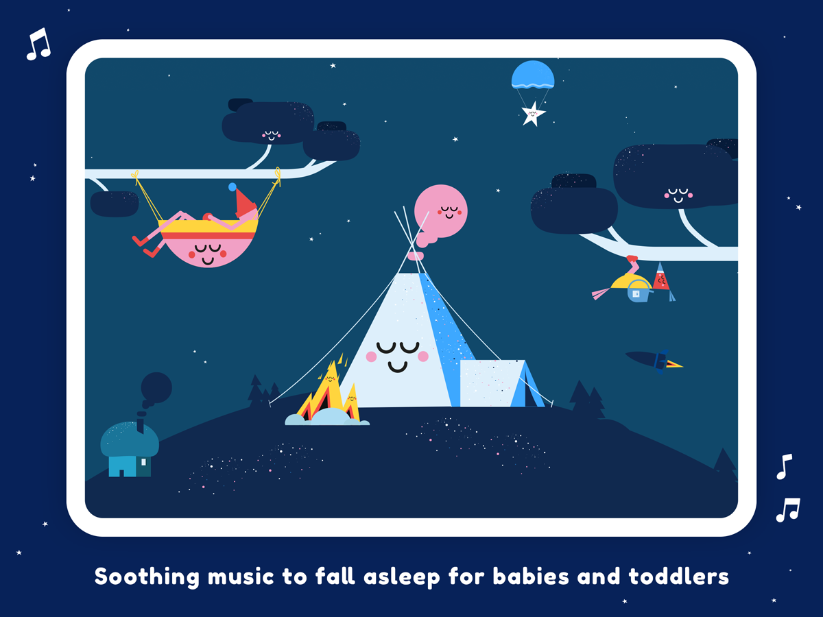 Little Slumber Lullaby App for iOS and Android devices