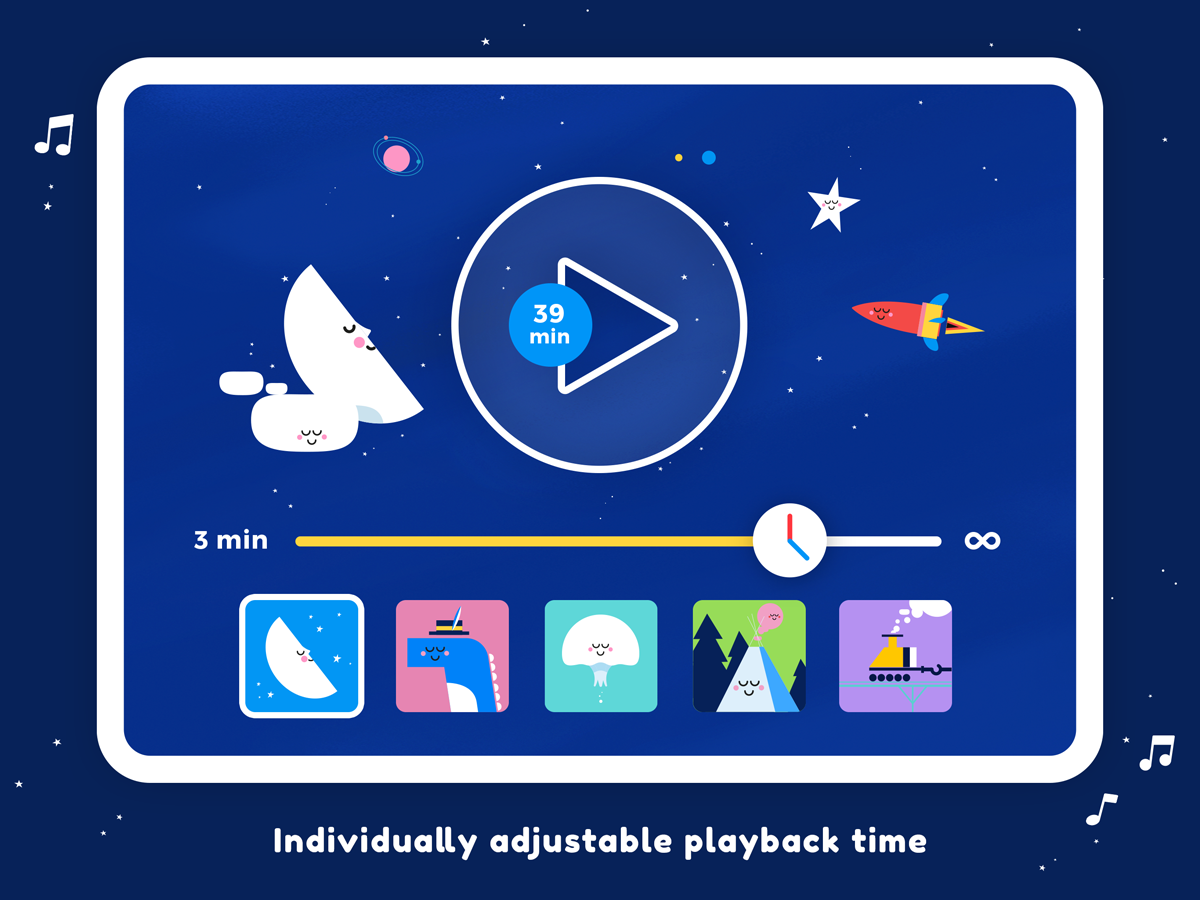 Little Slumber Lullaby App – Beautiful Sounds for Babies