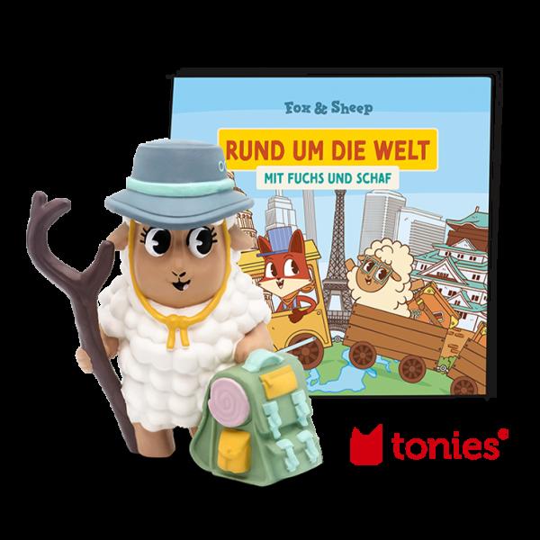 """Tonie """"Rund um die Welt mit Fuchs und Schaf"""""""